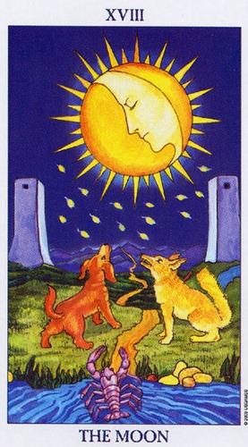 Księżyc - wróżka Arkadia - darmowa wróżba