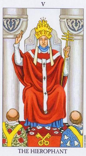 Papież - wróżka Arkadia - darmowa wróżba