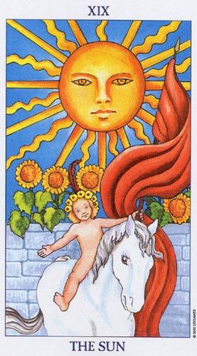 słońce - wróżka Arkadia - darmowa wróżba