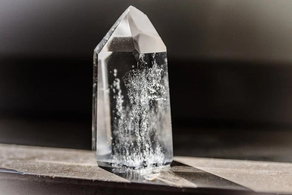 kryształ górski - wróżka Arkadia