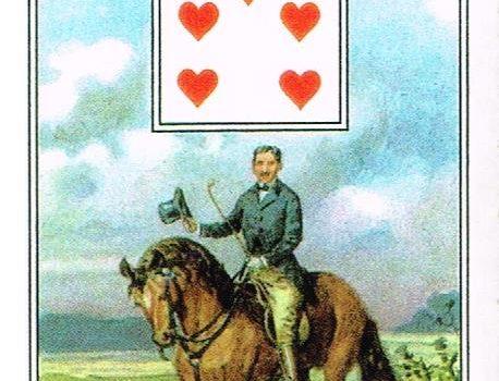 1 Jeździec – karty Lenormand