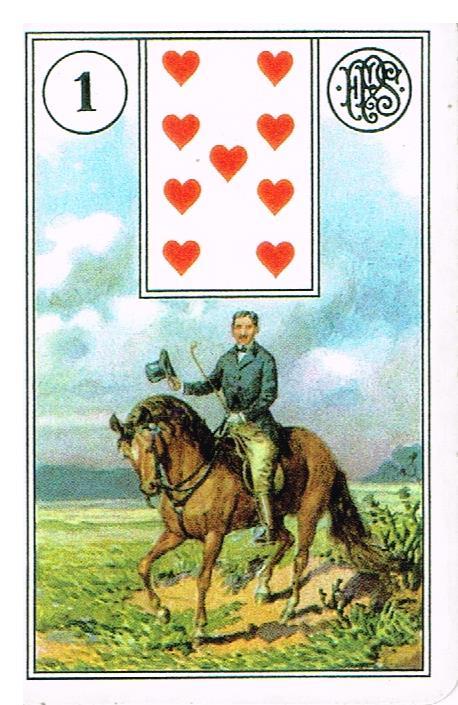 jeździec - wróżka Arkadia