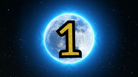 numerologiczna jedynka - wróżka Arkadia