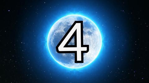numerologiczna czwórka - wróżka Arkadia